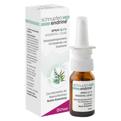Schnupfen Endrine 0,1% Nasenspray - 1