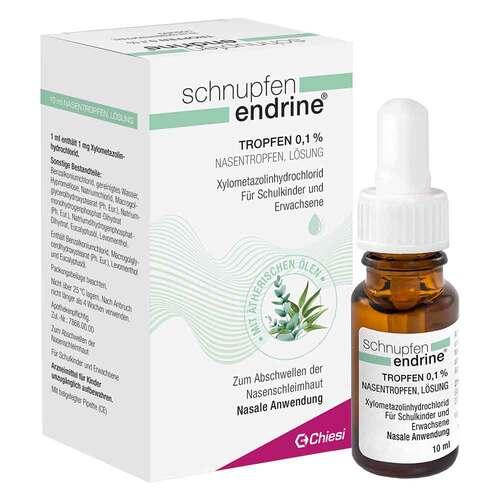 Schnupfen Endrine 0,1% Nasentropfen - 1