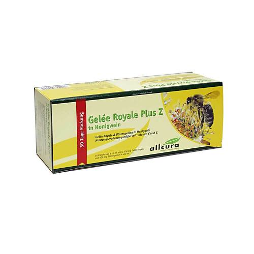 Gelee Royal plus Z im Honigwein Trinkampullen - 1