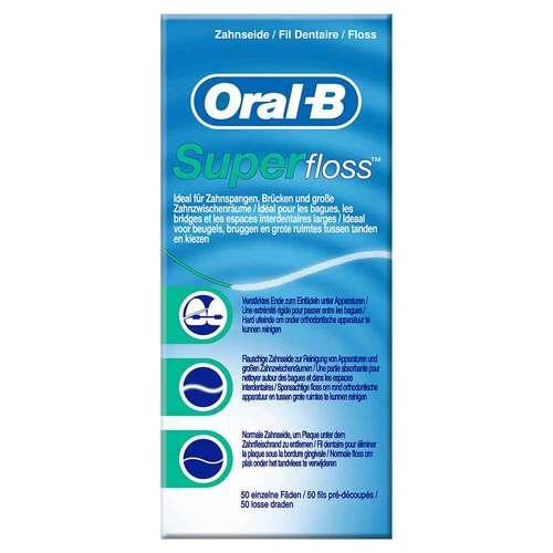 ORAL B Zahnseide Superfloss - 1