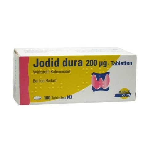 Jodid dura 200 µg Tabletten - 1