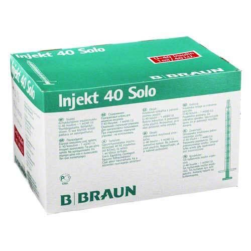 Insulin Injekt Solo 40 - 1