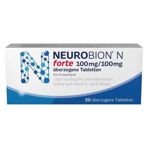 Neurobion N forte überzogene Tabletten - 1