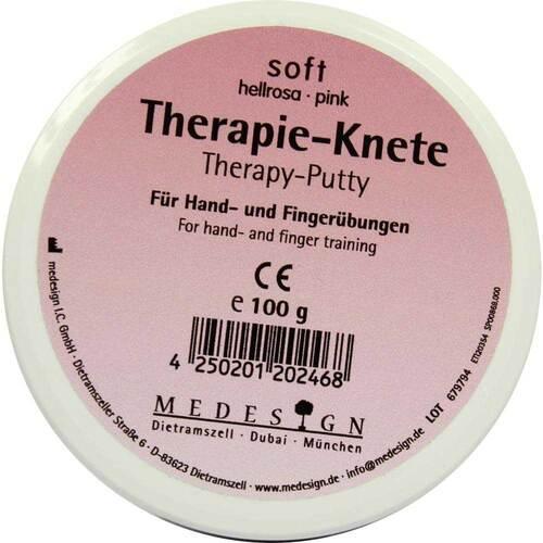 Therapieknete soft hellrosa - 1