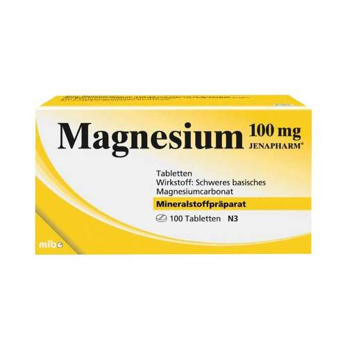 Magnesium 100 mg Jenapharm Tabletten - 1