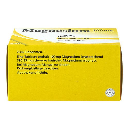 Magnesium 100 mg Jenapharm Tabletten - 2