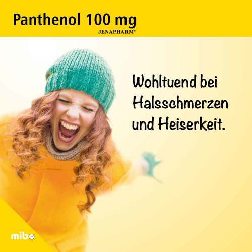 Panthenol 100 mg Jenapharm Tabletten - 2