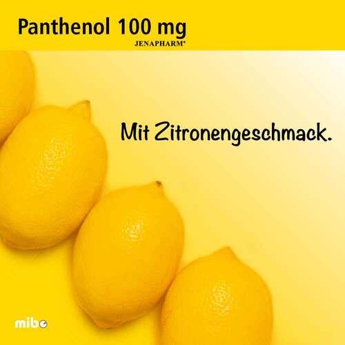Panthenol 100 mg Jenapharm Tabletten - 3