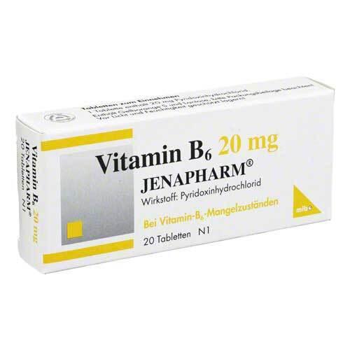 Vitamin B6 20 mg Jenapharm Tabletten - 1