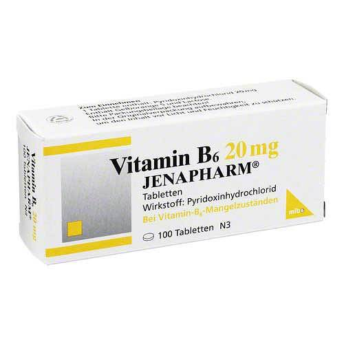 Vitamin B6 20 mg Jenapharm Tabletten - 1