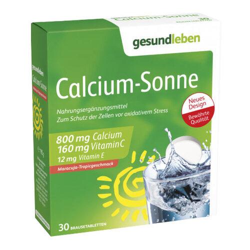 Gesund Leben Calcium Sonne Brausetabletten - 1