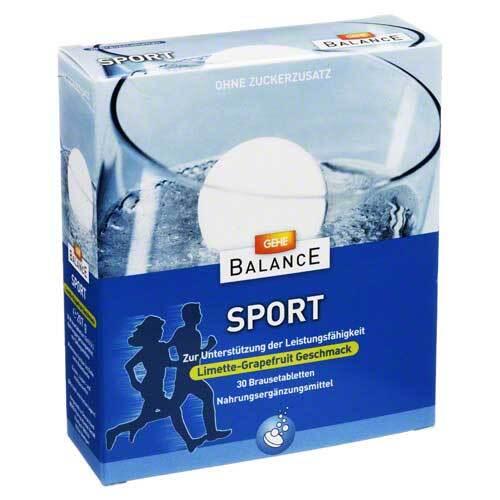 Gesund Leben Sport Brausetabletten - 1