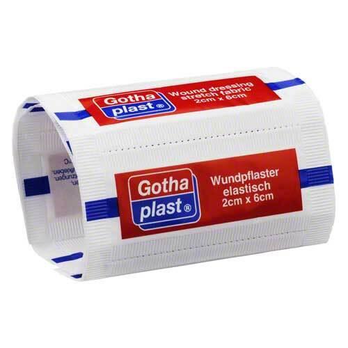 Gothaplast Strips elastisch 2x6 cm - 1