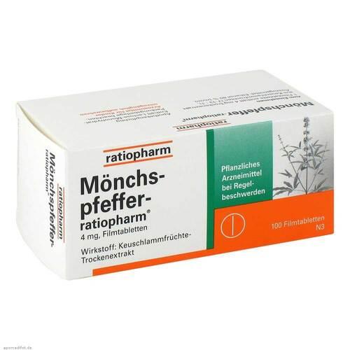 Mönchspfeffer ratiopharm Filmtabletten - 1