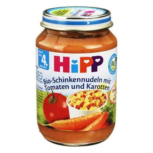 Hipp Menü n.d.4 Mon. Schinkennud.mit Tom.Kar. - 1