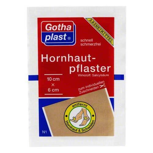 Gothaplast Hornhautpflaster 6x10 cm - 1