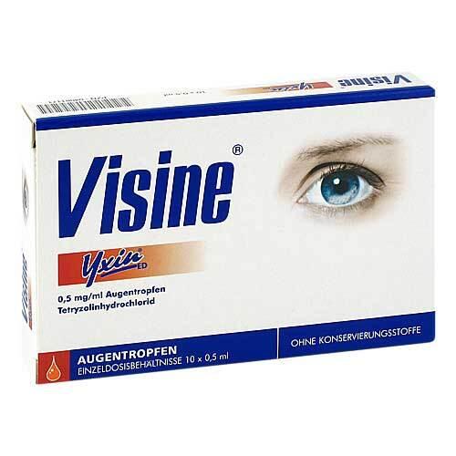 Visine Yxin ED Einzeldosispipetten - 1