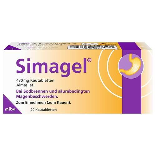 Simagel Kautabletten - 2