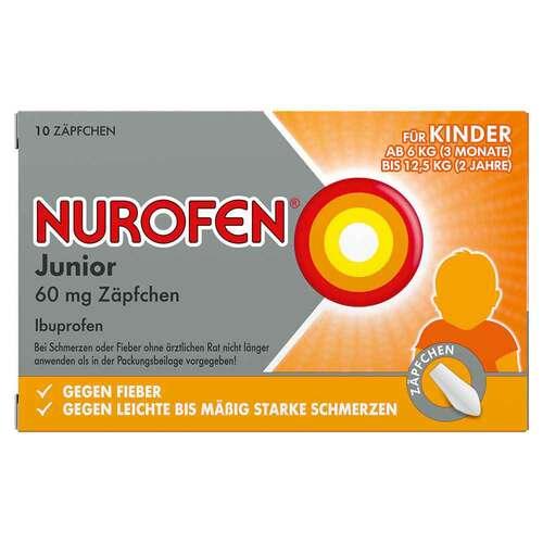 Nurofen Junior 60 mg Zäpfchen - 1
