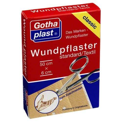 Gothaplast Wundpflaster standard 50cmx6cm Euroaufhänger - 1