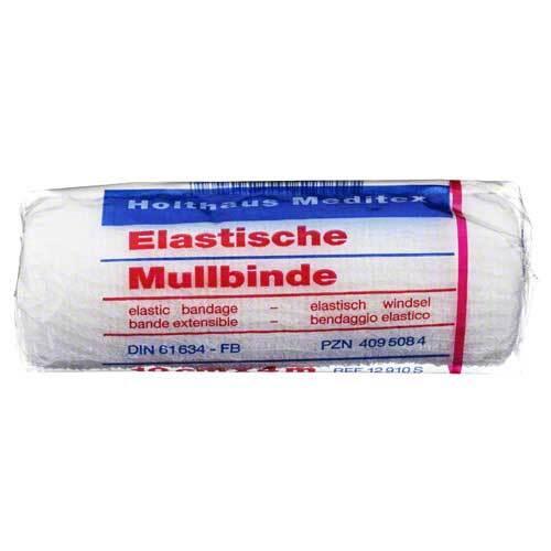 Mullbinden 4mx10cm elastisch - 1
