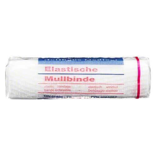 Mullbinden 4mx12cm elastisch - 1