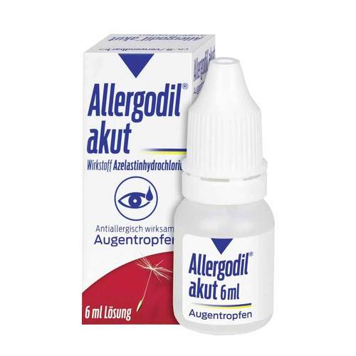 Allergodil akut Augentropfen - 1