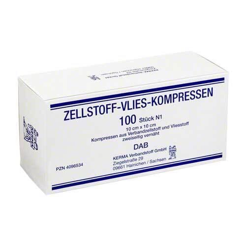 Zellstoff Vlies Kompressen 1 - 1