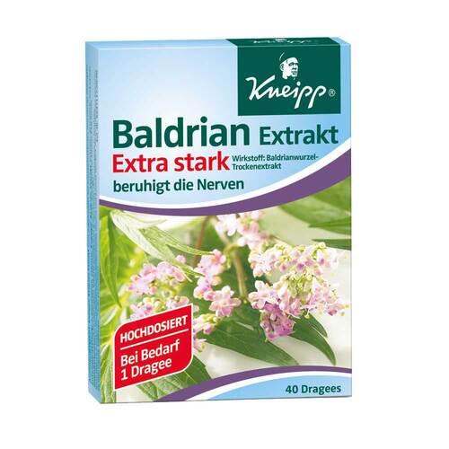 Kneipp Baldrian Extrakt extra stark überzogene Tabletten - 1