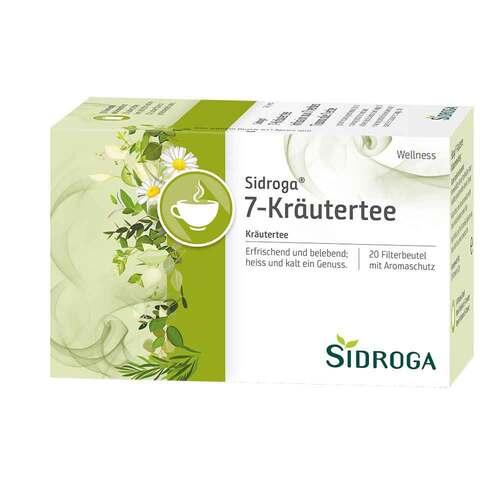 Sidroga Wellness 7-Kräutertee Filterbeutel - 1