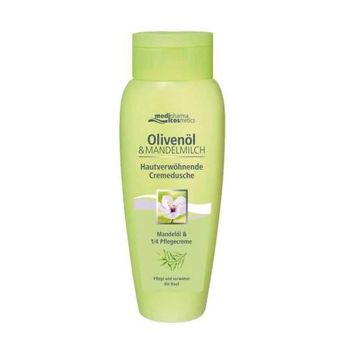 Oliven-Mandelmilch hautverwöhnende Cremedusche - 1