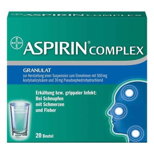 Aspirin Complex Beutel mit Granulat zur Herstellung einer Suspension zum Einnehmen - 1