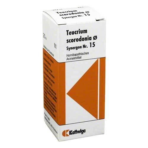 Synergon 15 Teucrium Urtinkt - 1