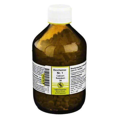 Biochemie 1 Calcium fluoratum D 6 Tabletten - 1