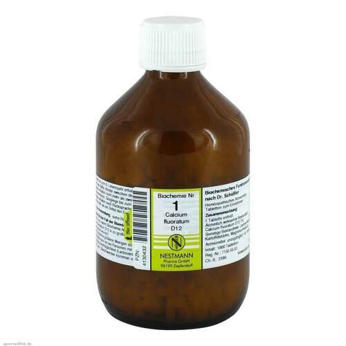 Biochemie 1 Calcium fluoratum D 12 Tabletten - 1