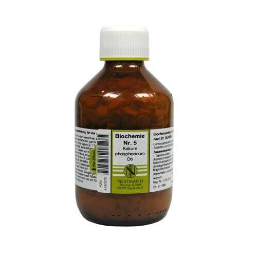 Biochemie 5 Kalium phosphoricum D 6 Tabletten - 1
