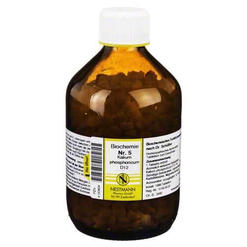 Biochemie 5 Kalium phosphoricum D 12 Tabletten - 1