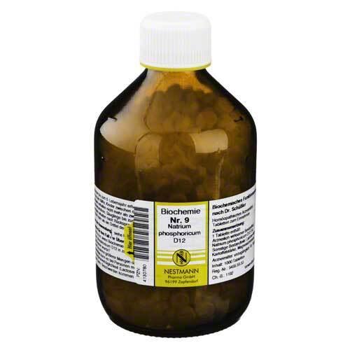 Biochemie 9 Natrium phosphoricum D 12 Tabletten - 1
