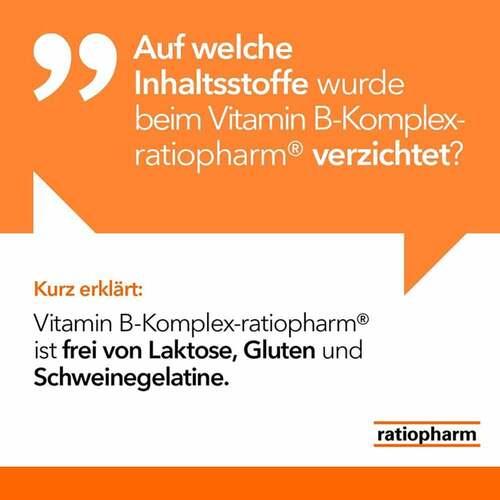 Vitamin B-Komplex ratiopharm Kapseln - 3