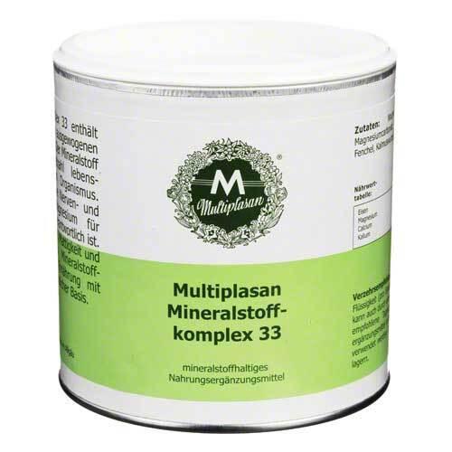 Multiplasan Mineralstoffkomplex 33 Pulver - 1