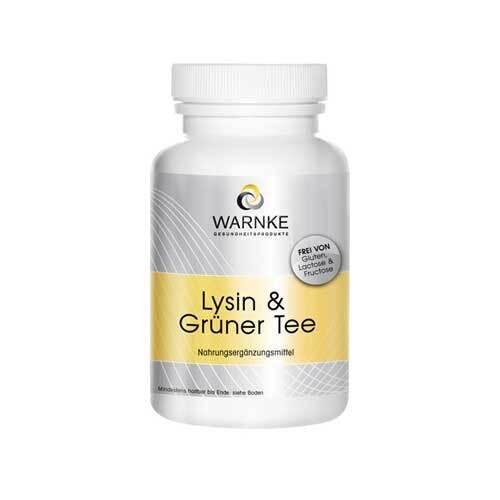 Lysin & Grüner Tee Kapseln - 1