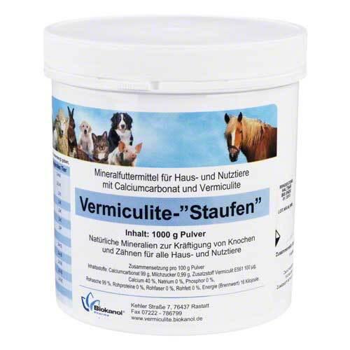 Vermiculite Staufen vet. Pulver - 1