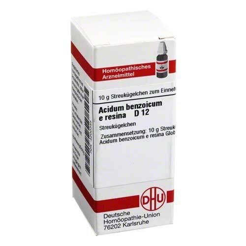Acidum benzoicum e res. D 12 - 1