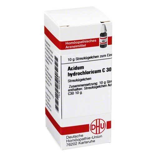 Acidum hydrochloricum C 30 G - 1