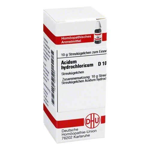 DHU Acidum hydrochloricum D 10 G - 1
