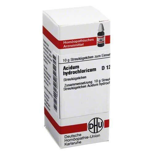 Acidum hydrochloricum D 12 G - 1