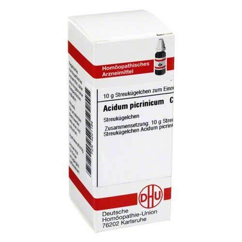 Acidum picrinicum C 30 Globuli - 1