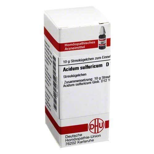 Acidum sulfuricum D 12 Globuli - 1