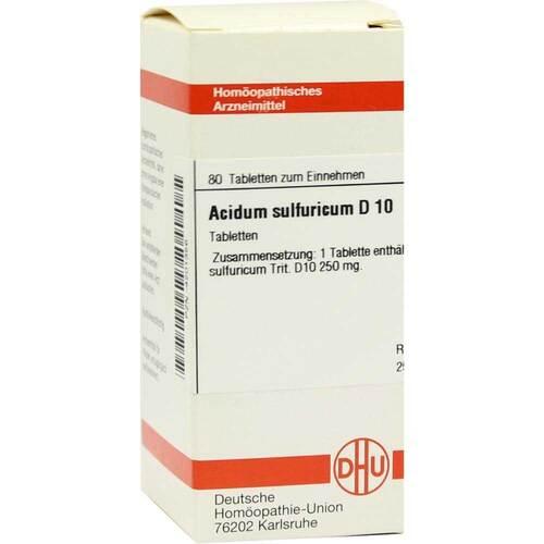 DHU Acidum sulfuricum D 10 Tabletten - 1