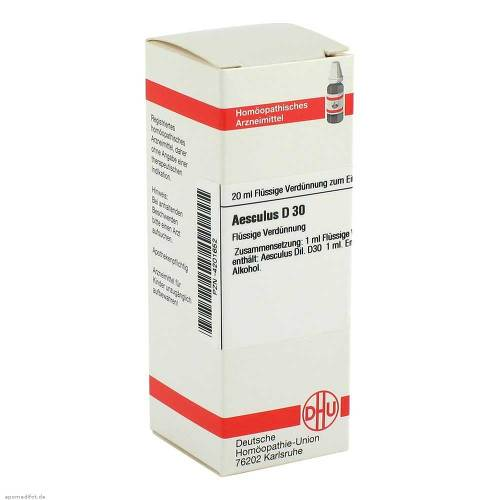 Aesculus D 30 Dilution - 1